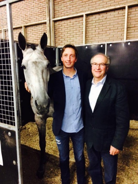 martin fuchs, dutch sport horse sales, show jumpers